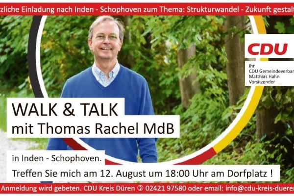 Walk & Talk mit Thomas Rachel